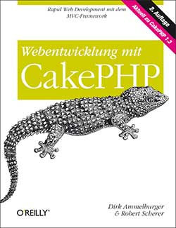 Cover Webentwicklung mit CakePHP